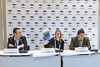 """Press conference where EWEA launched a new report, """"Where's the money coming from? Financing offshore wind farms""""   <a style=""""font-size:0.8em;"""" href=""""http://www.flickr.com/photos/38174696@N07/10962828623/sizes/o/"""" target=""""_blank"""" class=""""download"""">Download high-res</a>"""