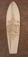 longboard intagliato