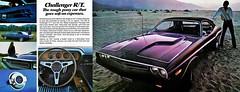 1971 Dodge Challenger RT 383ci (Rickster G) Tags: car ads se 1971 flyer muscle literature 70s dodge 1970 hemi mopar sales 1972 brochure ta 440 1973 rt sixpack challenger rallye dealer 340 426 383 chally ebody scatpack
