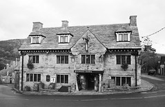Adox CMS20 - Bankes Arms, Corfe Castle (meyrickpark) Tags: cms adox cms20 adotech
