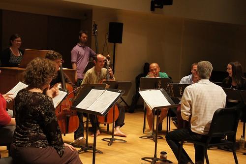 Bach Motet Rehearsal