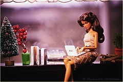 Anja In Sequins ITBE (Michaela Unbehau Photography) Tags: plants jason fashion toys photography louis doll © barbie books queen mc vogue convention premiere alexander wu edition royalty vuitton basic michaela diorama anja dollhouse integrity itbe nuface unbehau