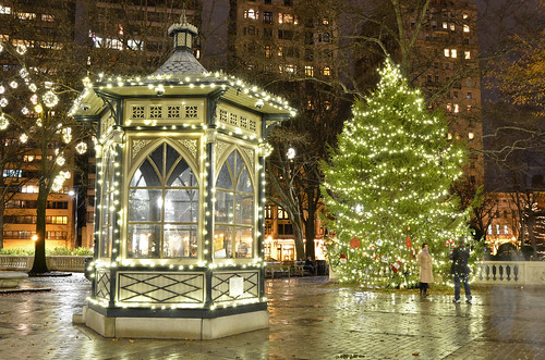 Christmas Photos Rittenhouse Square, Philadelphia