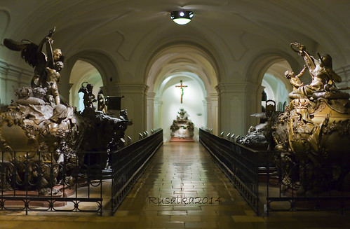 The Imperial Crypt in Vienna, Austria