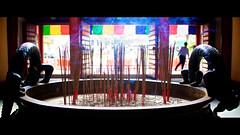 Joss Sticks at Noon (Splice Studios Singapore) Tags: red zeiss 35mm temple singapore chinatown dof sony cbd josssticks bhuddist kenn carlzeiss rx1 delbridge kenndelbridge zeiss35mmsonnartf20
