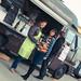 Le food truck Green Gourmet le Camion Gourmand en compagnie d'Emeline Cot du Château Siffle Merle