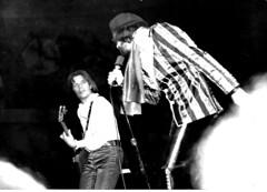 J. Geils Band 1975 (Philip Osborne Photography) Tags: j geils peter wolf greensboro nc coliseum gibsonflyingv guitar