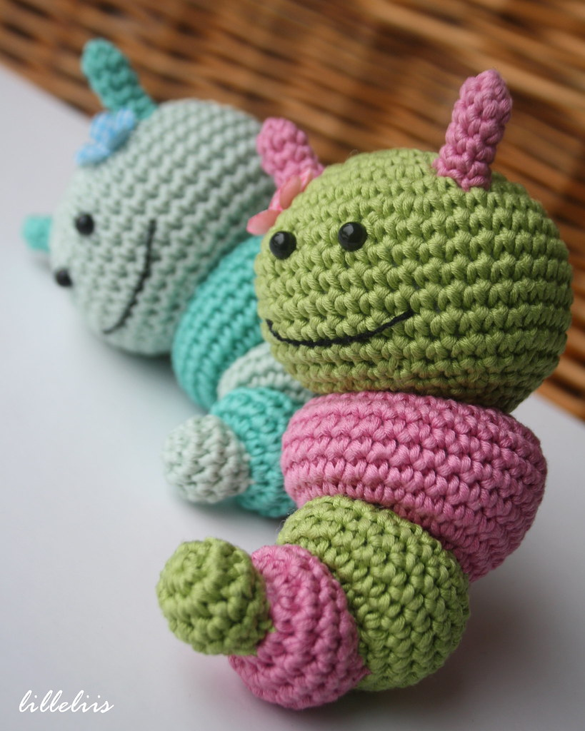 The World\'s Best Photos of amigurumi and caterpillar - Flickr Hive Mind