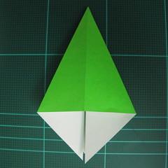วิธีพับกระดาษเป็นจรวด X-WING สตาร์วอร์ (Origami X-WING) 013