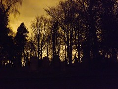 Silhouette Of Cathcart (Our Haunted Scotland Project) Tags: trees our cemetery graveyard project scotland glasgow haunted east gravestone cathcart cathcartcemetery renfreshire hauntedscotland