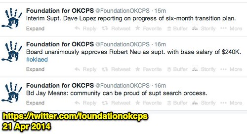OKCPS Hires Robert Neu as Superintendent by Wesley Fryer, on Flickr