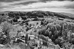 Vue de al Ruine de Ferrette (Alsace) (Anselm11) Tags: afsnikkor28300mmf3556gedvr ferrette landscape alsace bw schwarzweiss sw