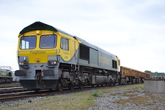 Freightliner 66504 (Will Swain) Tags: road uk england west heritage yard train coast hall tour cheshire britain centre main north may 4th trains 66 class line depot 70 86 freight 2014 basford freightliner wcml 66504 gresty