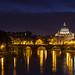 Basilica di San Pietro in Vaticano by night