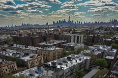 Rooftop 1 (Lumn8tion) Tags: nyc skyline nikon cloudy manhattan queens gothamist 2014 d700