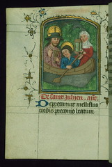 Prayer Book, including Office of the Dead, St. Julian the Hospitaller and wife, Walte