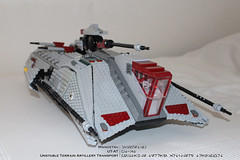UT-AT 002 (Mangetsu16) Tags: star starwars republic tank lego marines wars clone commander galactic trident moc bacara kiadimundi utat mygeeto