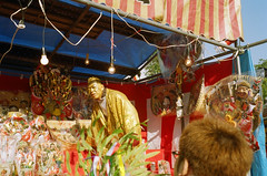 Ebisu Shrine (miho's dad) Tags: kobe kodakgold100 rollei35