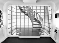 white stairs (wolffslicht) Tags: museum movie tv hell stairway potsdamerplatz escaleras treppen kinemathek