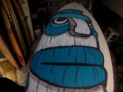 CRATER MAN BOARD MR. ESCOBAR (PICCO SURF) Tags: art surf mr mister escobar surfart escobart carlosescobararte carlosescobarsurfart piccosurfboardsmexico carlosescobarsurfyahoocom