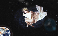 When Stars Sleep (Kelsey Ann Thomas) Tags: light sleeping blur cold girl contrast photoshop circle lens stars spiral creativity flying cool flickr alone peace nashville earth space think atmosphere manipulation sharp dreaming fabric galaxy blanket blonde flare planets concept float universe ozone loud collaboration hum evolve rotate levitate instagram kelseyannswanson