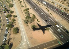 I'm inside that shadow... 20150209_5828 (listorama) Tags: shadow arizona usa phoenix plane flight aerial fromabove i10 737 seattlephoenix