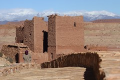at benhaddou (dieter_turk) Tags: street travel portrait people urban man mountains castle tourism rural landscape person documentary morocco human national atlas ait geographic benhaddou
