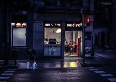 Rainy night in Gracia