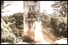 she walks these grounds (Nesster) Tags: cemetery sleepyhollow