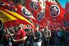 CasaPoundProcession.fascists on the streets (Maximo Photonico) Tags: street rome roma demonstration procession piazza fascist vittorio dimostrazione corteo fascisti casapound