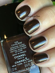 Chanel Cavaliere (purple yellow) Tags: nail polish chanel cavaliere 526