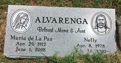 Alvarenga Headstone (eloisedv) Tags: oklahoma cemetery headstone gravemarker cartercounty lonegrove