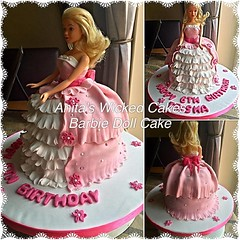 Barbie Doll Cake (Anita's Wicked Cakes) Tags: cake doll barbie