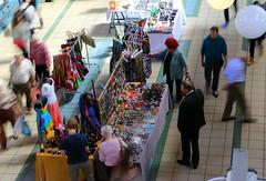 Jewellery Stall (Crisp-13) Tags: people motion hall hungary market budapest central stall jewellery nagyvsrcsarnok