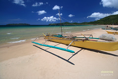 Peaceful, Easy Feeling (engrjpleo) Tags: travel sea seascape beach water landscape coast boat seaside sand outdoor philippines shore elnido palawan waterscape nacpanbeach