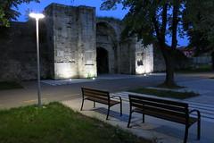 Vidin - Pazar Kapia Gate (defensive system Kaleto) (lyura183) Tags: night gate bulgaria fortress vidin