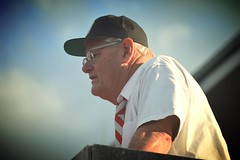 woody lives! (brown_theo) Tags: ohio game football coach state baseball woody osu hayes buckeyes lookalike