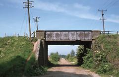 Doune overbridge near old Station. Jun'83. (David Christie 14) Tags: doune