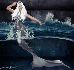 The Mermaids Cry (Danielle Hinault) Tags: pose underwater mermaid