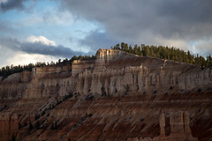 Sunset Over Bryce Canyon (Eric.Burniche) Tags: park mountain mountains landscape utah nationalpark desert roadtrip brycecanyon brycecanyonnationalpark