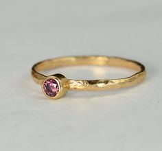 Classic Solid 14k Ro (alaridesign) Tags: classic june rose by real gold purple band ring mothers 14k solitaire solid birthstone 3mm alexandrite alaridesign