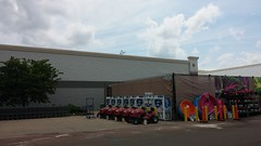 All Dressed in Gray (Retail Retell) Tags: oxford ms walmart supercenter remodel black decor 20 new exterior paint colors treatment lafayette county retail gray blue