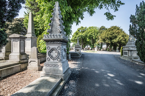 MOUNT JEROME CEMETERY AND CREMATORIUM IN HAROLD'S CROSS [SONY A7RM2 WITH VOIGTLANDER 15mm LENS]-117098