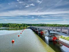 Hoover Memorial Reservoir, Westerville, Ohio (jnancejr) Tags: memorial reservoir pro hoover hdr photomatix