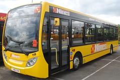 YX60DXK (30mog) Tags: bus dennis dg 119 enviro nines yx60dxk
