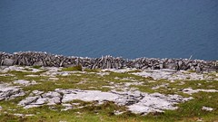 Burden wall above Galway Bay (Michael Foley Photography) Tags: ireland burren coclare galwaybay