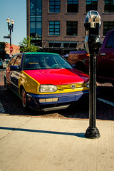 Crazy Color (rg69olds) Tags: 06182016 nebraska construction oldmarket omaha crazy color crazycolor car street park city canon canoneos6d canonef24105mmf4lisusm 6d
