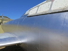 """Gloster Meteor T.7 15 • <a style=""""font-size:0.8em;"""" href=""""http://www.flickr.com/photos/81723459@N04/27269151972/"""" target=""""_blank"""">View on Flickr</a>"""