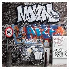 Dump Trump - Graffiti Art (GAPHIKER) Tags: street art netherlands amsterdam bicycle graffiti politics nomad trump dumptrump