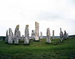 Callanish Stones (neilsonabeel) Tags: mamiya film mediumformat scotland kodak lewis rangefinder analogue westernisles outerhebrides mamiya7 portra160 callanishstones